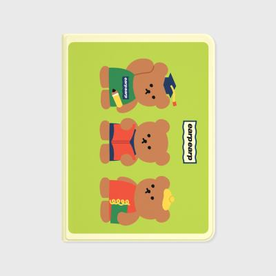 Smart bear friends-green(아이패드-커버)