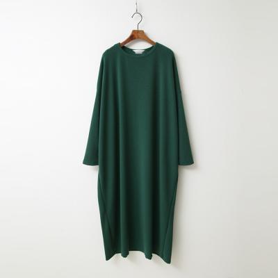 Easy Cotton Boxy Long Dress