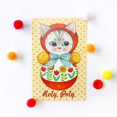 포스트카드 시리즈 - 롤리폴리