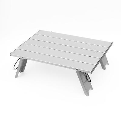 라이프 미니 캠핑테이블 실버 접이식 간이테이블