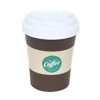 커피 휴지통(대) 6L