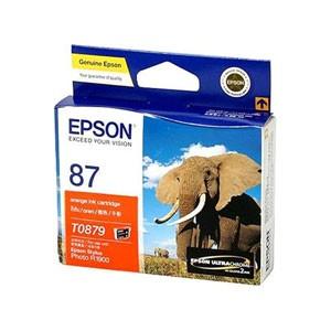 엡손(EPSON) 잉크 C13T087990 / NO.87 / Orange / Stylus Photo R1900