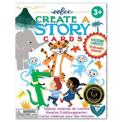 화산섬 스토리텔링 카드 / 3세이상,유아,가족