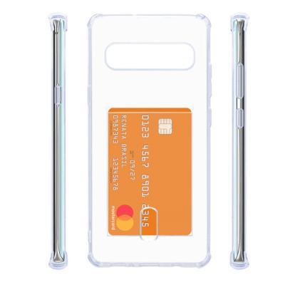 카드포켓 클리어케이스(갤럭시노트10플러스/5G)