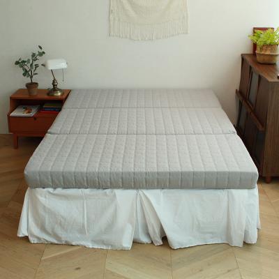 린폴 3단 접이식 매트리스 12cm 싱글