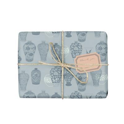 전통 도자기 포장지 (2장)