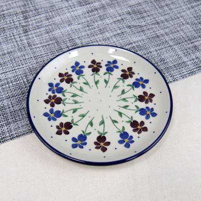 폴란드그릇 아티스티나 원형 접시 16cm 패턴2178