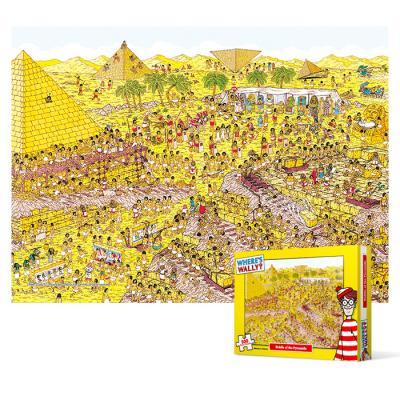 500피스 직소퍼즐 - 월리를 찾아라 피라미드 수수께끼