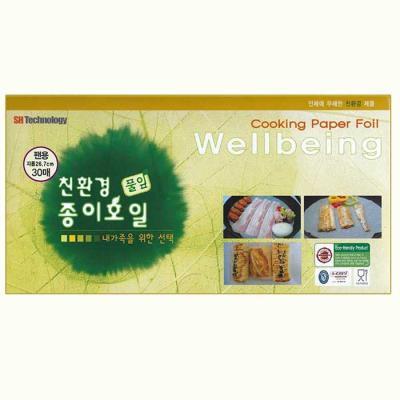 가족을 위한 Cooking Paper Foil 팬용30매 CH1619886