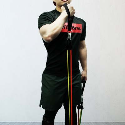 와일드브로스 튜빙밴드 발목스트랩 손잡이 도어앵커