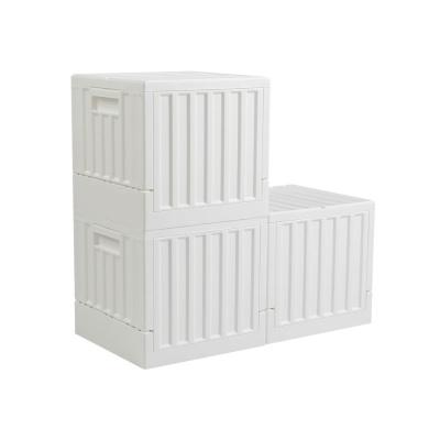 [스퀘어형] 플립 접이식 캠핑폴딩박스 22L 1P