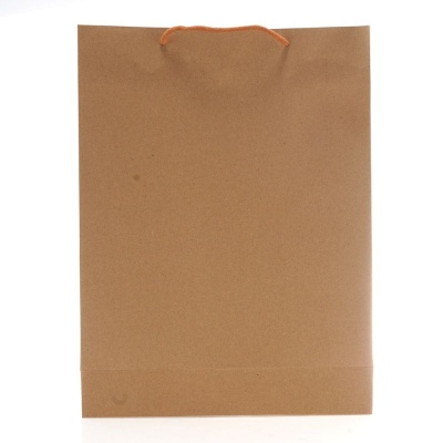 크라프트 무지 쇼핑백 6호 수납가방 선물포장 10개