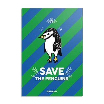 멸종위기동물 알림 노트 - The Penguin
