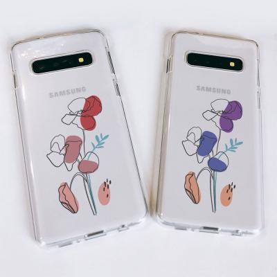 갤럭시S10/S10+/S10E drawing flower 소프트젤리케이스