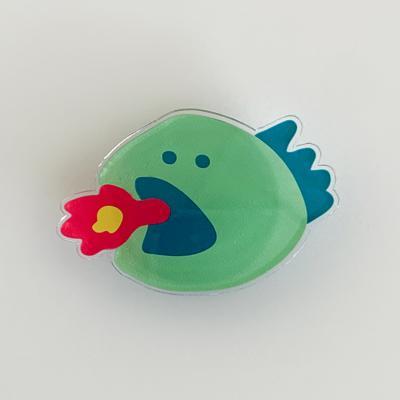 [아크릴톡] 페이스 랩터공룡