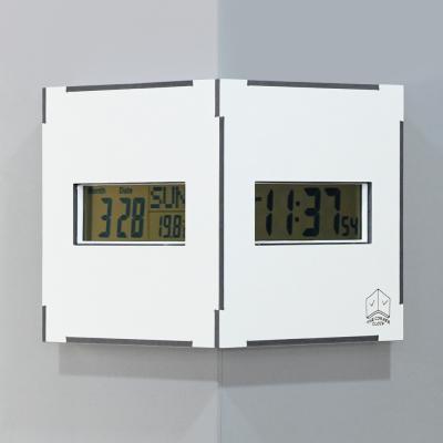 (ktk179)디지털 코너시계 (화이트)