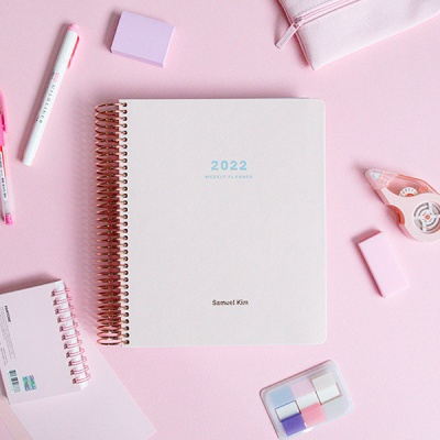 2022 PU 다이어리 - 핑크