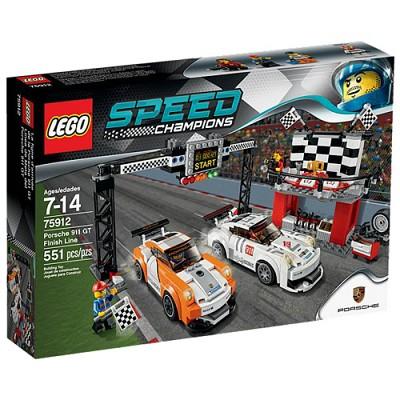 [레고 스피드 챔피언] 75912 포르쉐 911 GT 피니시 라인