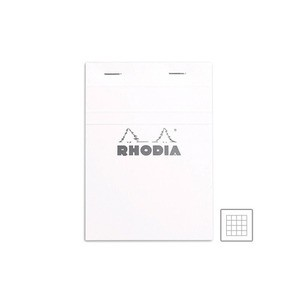 [로디아] 아이스 화이트 패드 NO.13(격자)