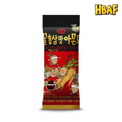 [길림양행] 꿀홍삼맛 아몬드 30g
