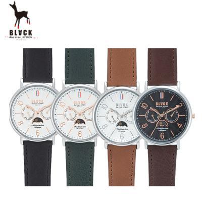 [블랙마틴싯봉] 남성 가죽 손목시계 BKL1647M