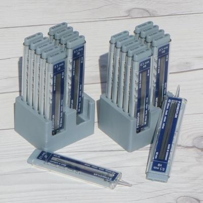 [STAEDTLER] 원버튼 푸쉬 메카니즘..스테들러 Mars micro carbon 255 0.5mm 샤프심 40개입 10통
