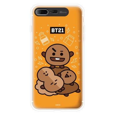 BT21 iPhone8 Plus /7Plus 슈키 그래픽 라이팅 케이스 (Hybrid)