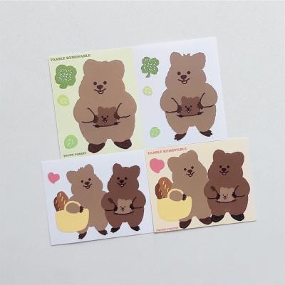 [영이의숲]패밀리 꽃카 리무버블 스티커