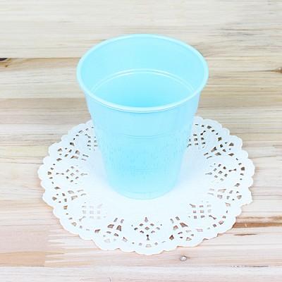 파티용 칼라 컵-라이트블루(10개입)
