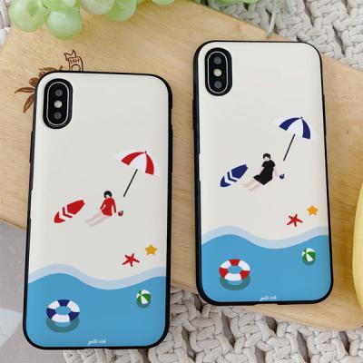 아이폰7플러스 골드리치 여름 카드케이스