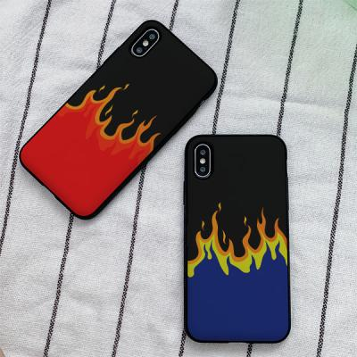 아이폰8 burning 카드케이스