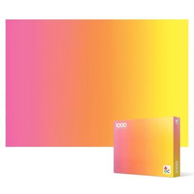 1000피스 직소퍼즐 - 그라디언트 오렌지