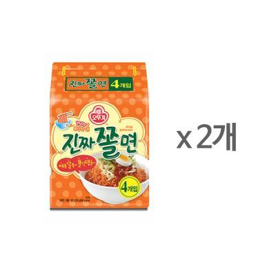 [오뚜기] 진짜쫄면 (150gx4) x 2