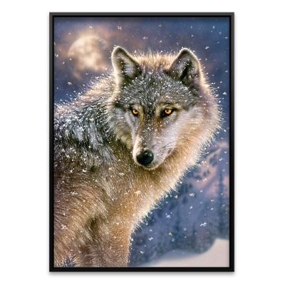 500조각 직소퍼즐▶ 설산의 늑대 (LD52431)
