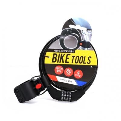 8500 자전거 4다이얼 자물쇠(거치식)