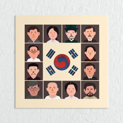 cq068-독립운동위인들_소형노프레임