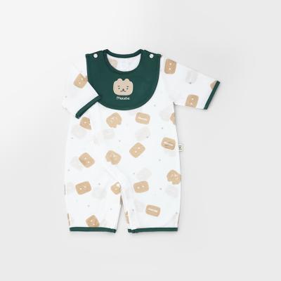 [메르베] 건빵속베어 신생아 7부 우주복/북유럽아기옷