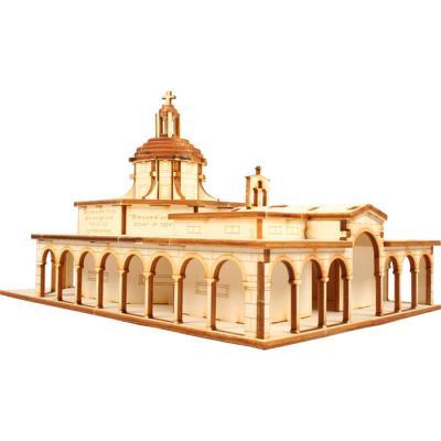 교육용 목재 입체퍼즐 - 영공방 팔복 교회
