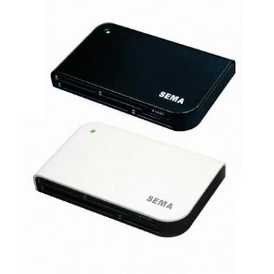 SEMA All in1 멀티 카드리더기 SFD-321F/Q1BB, Q1WB (USB2.0)