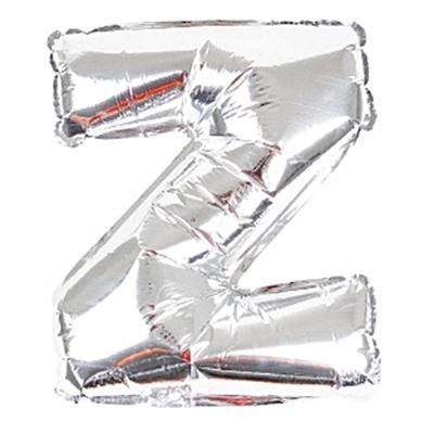 알파벳 이니셜 은박풍선 (소) 실버 Z