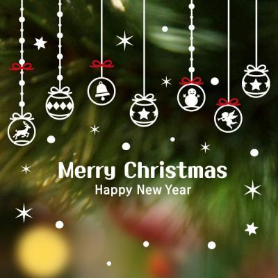 제제데코 크리스마스 눈꽃 스티커 장식 CMS4J205