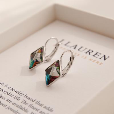 제이로렌 M03225 컷팅 스와로브스키 원터치 귀걸이