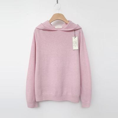 Laine Wool Cashmere Hood Sweater