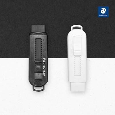 스테들러 525 슬라이딩 지우개 블랙&화이트 에디션