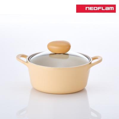 네오플램 플랑 IH 인덕션 냄비 양수 18cm