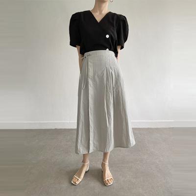 Nylon Lady Long Skirt