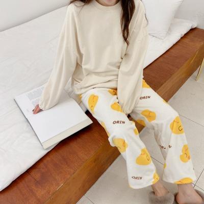 오린이 캐릭터 수면 잠옷 바지 파자마 홈웨어 3color