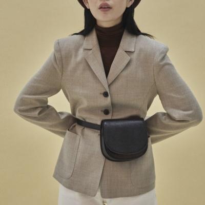 [펀프롬펀]Kate mini bag_snake (black)