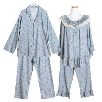 [쿠비카]캐쥬얼 모달 코튼 투피스 커플잠옷 WM192
