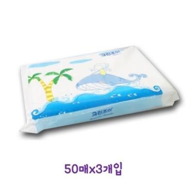 여행용 티슈(50매x3개입) 휴대용